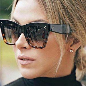 New! Celine cat eye and tortoise sunglasses